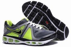 outlet store 8d963 14e31 Nike Air Max Tailwind 4 Men s Running Shoe 453976 100 Grey Black Green