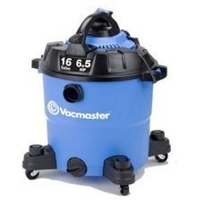 With this convenient 2-in-1 tool, you get a powerful 6.5 peak HP wet/dry vac that converts to a 265 MPH leaf blower with an effortless press of a button. No more hassling with cumbersome latches and locks.  The vac has a rugged 16 gallon polypropylene tank, on-board accessory storage, an extra large drain for fast emptying and 12 accessories that will be useful for most vacuum and blower applications.