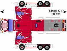 Paper Semi-Trucks | Scania 164 580 SOYNIOS - YouTube - HD Wallpapers