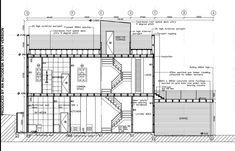 Architecture Portfolio, Architecture Plan, Residential Architecture, Interior Architecture, Interior Design, Architectural Section, Architectural Digest, Building Section, Building A House