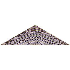 Deep Diver Geometric Fabric Wall Sticker (Obtuse Triangle)