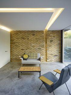 Erweiterung Von Coffey Architects , Machen Sie Ihre Home Beam Und Glow Mit  Integrierter Beleuchtung