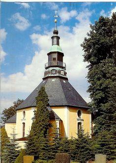 seiffen germany | Germany - Seiffen Round Church