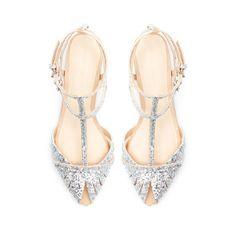 fancy glitter flat sandal for onto Spring/Summer wardrobe. Fancy... right?