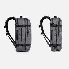 Side Compression Straps Travel Backpack