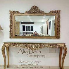Room Interior Design, Luxury Interior, Luxury Furniture, Modern Furniture, Furniture Design, Interior Decorating, Consoles, Mirror Art, Mirrors