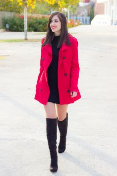 RED TRENCH #kissmylook