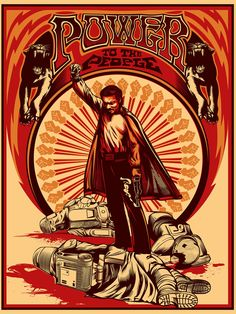 """Brent Cheshire's Lando Rising 18"""" x 24"""" screenprint. Limited to 100 signed and numbered. $35.00, via Etsy."""
