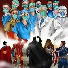 Cool Art Drawings, Art Drawings Sketches, Real Superheroes, Doctor Drawing, Image Pinterest, Warrior Drawing, Nurse Art, Rn Nurse, Medical Art