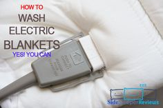 The only question in your mind is probably how to wash electric blankets without ruining them. Luckily, the fact is that all electric blankets are designed. Heated Blanket, Side Sleeper Pillow, Best Pillow, Good To Know, Cleaning Hacks, Blankets, Electric, Facts, Personalized Items