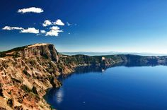 Stephen's photo of Crater Lake. Isn't my brother awesome?