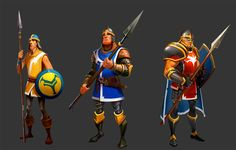 Concept Illustrations I did for Facebook game Game of Emperors, or the mobile version Viber Emperors. Some of the concepts are based…