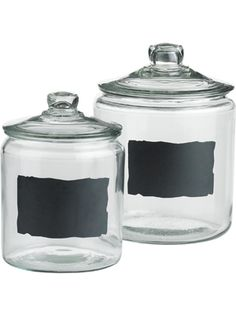 Chalkboard Jars perfect for any kitchen counter!