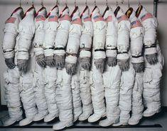we-r-stubborn:Hiro Apollo Spaceflight Training Suits, Houston, Texas, 1978