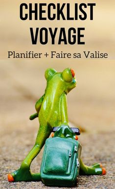 Check list Voyage - faire sa valise - Conseils Voyage