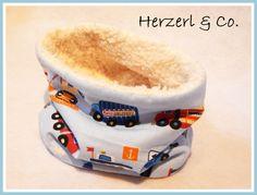 Schlupfschal CARS von HerzerlUndCo auf DaWanda.com