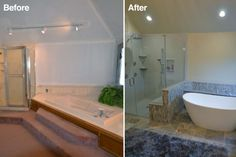 One Of Our Bathroom Remodeling Customers In Central Ohio.