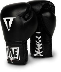 TITLE-Boxing-Professional-Lace-Training-Gloves #muaythai #combatsports #mma #boxing
