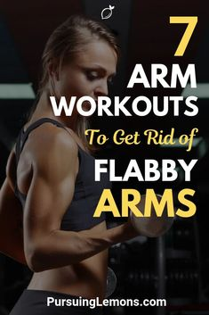 Here are 7 arm workouts exercises that you can do easily to build toned arms. It's time to bring back those sexy arms of yours! Upper Body Workout Routine, Tone Arms Workout, Workout Routines, Workout Gear, Lose Arm Fat, Lose Belly Fat, Lose Weight In A Week, Losing Weight Tips, Bicep Muscle