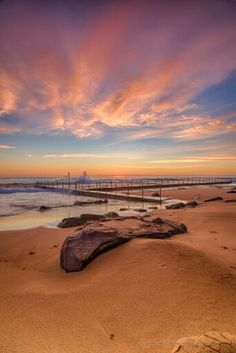 Newport Beach, Sydney, Australia, by Rene Kisselbach via Landscape Photography