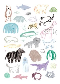 #animals #art #nursery
