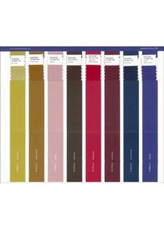 Pantone View Colour Planner - Winter 15/16