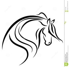 Illustration of Horse silhouette logo vector art, clipart and stock vectors. Silhouette Logo, Horse Silhouette, Silhouette Machine, Horse Template, Metal Font, Picture Templates, Horse Wall Art, Horse Logo, Stock Image