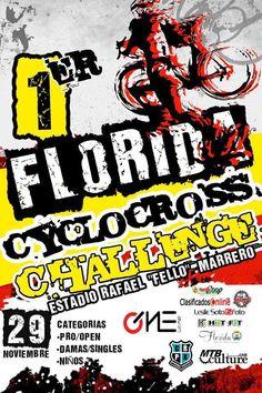 Florida Cyclocross Challenge 2015 #sondeaquipr #deportespr #floridacyclocrosschallenge #estadiorafaelfellomarrero #florida