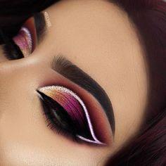 🌸✨fσℓℓσω @💋𝙈𝙠𝙗𝙮𝙄𝙣𝙖𝙮𝙖𝙝💋 fσя мσяє вσмв ριиѕѕѕ✨🌸#82 #EyeMakeupBlue Makeup Eye Looks, Beautiful Eye Makeup, Eye Makeup Art, Smokey Eye Makeup, Eyeshadow Makeup, Makeup Inspo, Glitter Makeup, Makeup Geek, Makeup Ideas