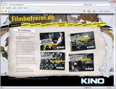 Kunde: Zukunft Kino Marketing - Kampagne - Website-Text und Aktionsentwicklung Broadway, Marketing, Movie, Future