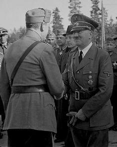 Hitler and Mannerheim