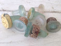Vintage Glass Bottle Stoppers