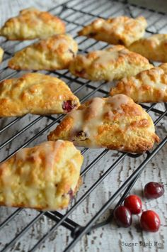 Holiday Scones with Cranberry and Orange