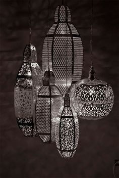 Moroccan lighting and design  Beautiful Design and Tile
