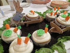 Peter Rabbit Cake Mr McGregors Garden For Gracies 1st