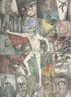 Junji Ito anime director and release date revealed! As expected, the anime is set to be an anthology series, adapting various stories from the Horror World of Junji Ito Collection and Fragments of. Junji Ito, Upcoming Anime, Japon Tokyo, Japanese Horror, Arte Horror, Horror Art, Creepy Art, New Poster, Japanese Artists