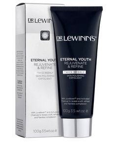 De LeWinn's Eternal Youth Skin Polishing Exfoliant  - A replenishing exfoliating cleanser gently removing surface debris, refining pores, drawing out environmental toxins and fighting pollution. Formulated with a powerful hexapeptide Juveleven™, Activated Charcoal and Green Tea, it creates a flawless and refined complexion, preparing the skin for improved absorption of moisturising treatments. Makeup Sale, Make Makeup, Makeup And Beauty Blog, Cheap Makeup, Online Makeup Stores, Skin Polish, Eternal Youth, Beauty Supply