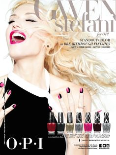 Gwen Stefani for OPI Collection!