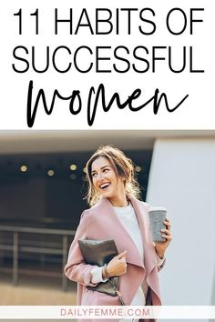 Ever wonder what it is that sets apart women who are successful and those who are just getting by? It's these habits - no matter what successful looks like to you, these habits of successful women are a priority. small business Tips Business Woman Successful, Habits Of Successful People, Successful Women, Business Women, Business Tips, Business Marketing, Creative Business, Marketing Quotes, Business Entrepreneur