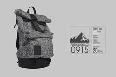 Backpack Pilsok 11 Roll top Noise / Every Day Bag / by Pilsok