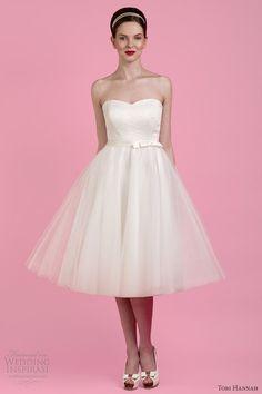 tobi hannah wedding dresses 2014 bridal wall strapless detachable halter neck straps