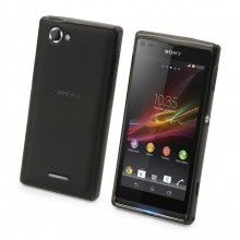 Funda Xperia L - Made For xperia - Minigel - Negra  $ 235.46