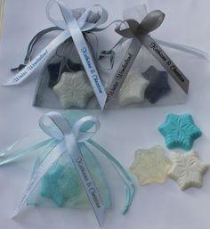 #letitgo #frozen Snowflake Winter Soap Party Favors Wedding Bridal Shower Birthday CUSTOM Frozen #AmysBubblingBoutique