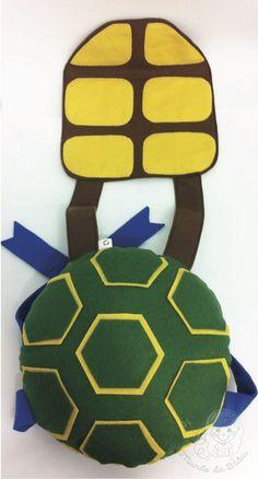 Colete Casco Tartarugas Ninjas   Ateliê Mundo da Bubu   Elo7