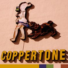 Vintage Coopertone Girl that used to be all over Miami. Now a distant memory.