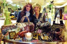 VIP Trunk Show for Sarabella James handbags sold @ La Joya Boutique, Tampa, FL...the lovely owner, Myriam Castellano ♥