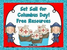 LMN Tree: Set Sail for Columbus Day Free Resources and Activities.