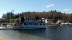 MV Kearsarge in Sunapee Harbor, NH