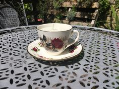 These are made using upcycled vintage teacup and saucer sets, with unscented candle wax. The best part is, when the candle is done just wash the cup out with hot water and you can use it for tea again! Teacup Candles, Candle Wax, Upcycled Vintage, Tea Cups, Tableware, Handmade, Stuff To Buy, Etsy, Dinnerware
