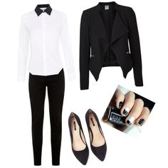 A fashion look from January 2015 featuring Paul Smith blouses, Vero Moda blazers and Forever 21 pumps. Browse and shop related looks.